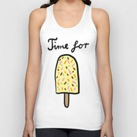popsicle Tank Tops featuring Popsicle by Ena Jurov