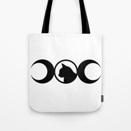 Black Cat Society II Tote Bag