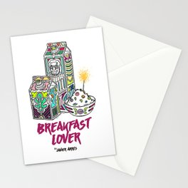 Breakfast Lover Stationery Cards