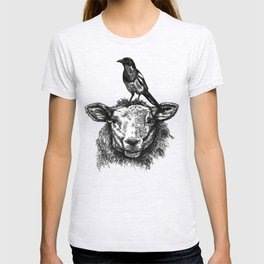 Sheep and Magpie T-shirt