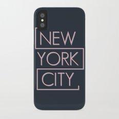 NEW YORK CITY iPhone X Slim Case