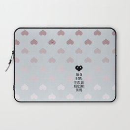 SEA OF HEARTS Laptop Sleeve