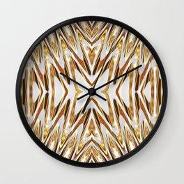 Golden Melts : Butterfly Love Wall Clock