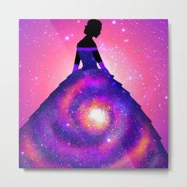 She is the Galaxy Metal Print