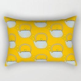 I Love My Little Tea Pot Rectangular Pillow