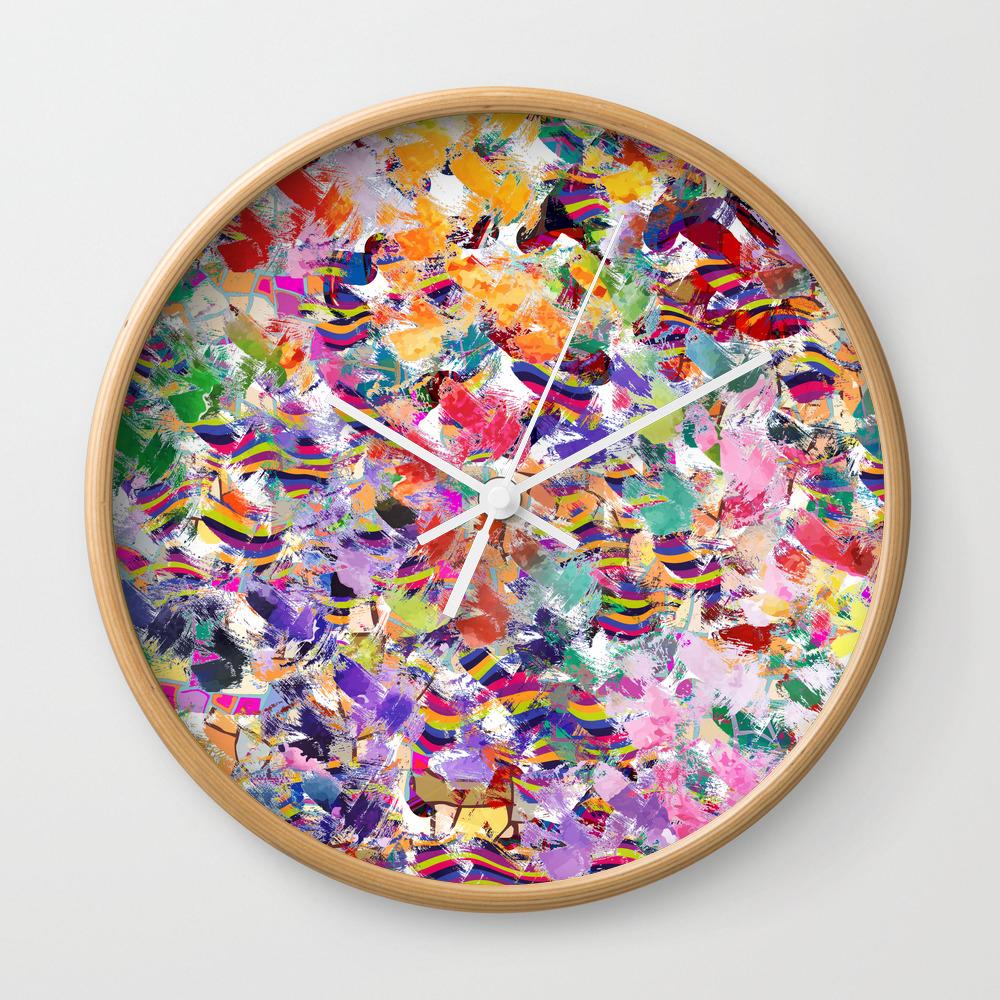 Broken Cups Wall Clock by Lalachandra CLK8601741