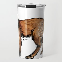 Brushed Fox Travel Mug
