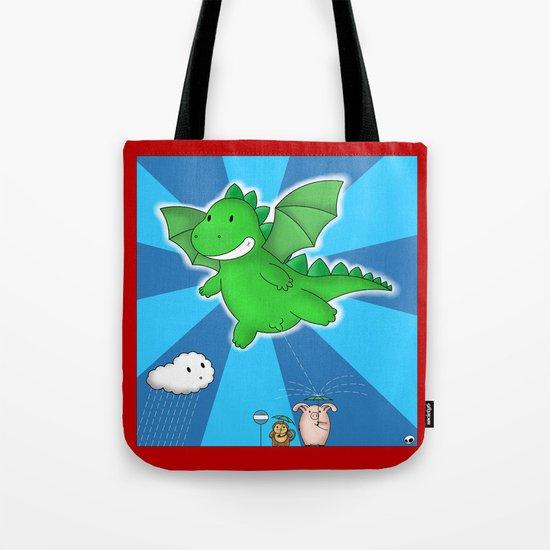 Godzilla rains first! Tote Bag