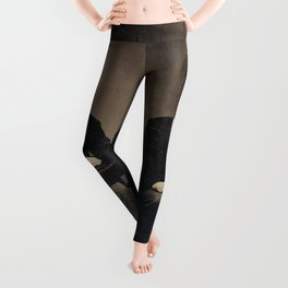 Faces of the Past: Cellular Leggings