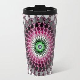 Fractal Spin Travel Mug