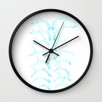 antlers Wall Clocks featuring antlers by Jia Guo