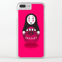 Kaonashi Doll Clear iPhone Case