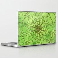 chakra Laptop & iPad Skins featuring HEART CHAKRA  by NioviSakali