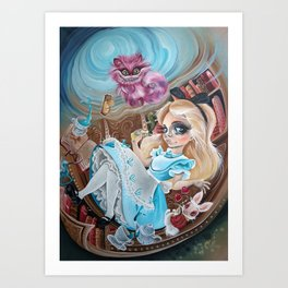 alice wonderland Art Print