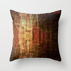 City New York Throw Pillow
