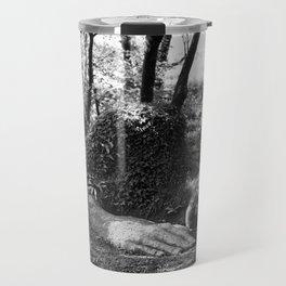Heligan giant in monochrome Travel Mug