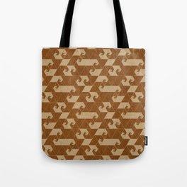 Fractal Wave C Tote Bag