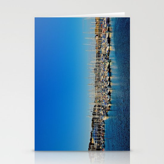 The Boats of Howth Harbor Stationery Cards