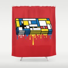 The Art of Gaming Shower Curtain