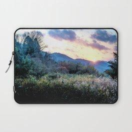 Mountain Sunrise Laptop Sleeve