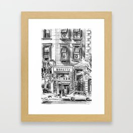 The Beretta Store Framed Art Print