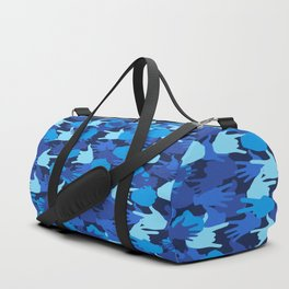 Handy Camo BLUE Duffle Bag