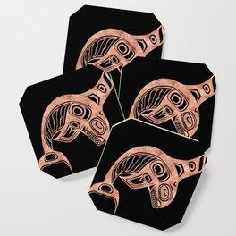 Copper Keét Night Coaster