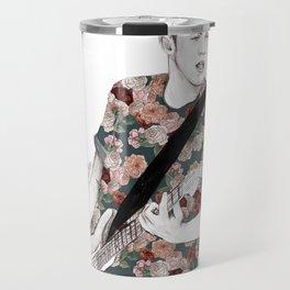 Floral Niall Travel Mug