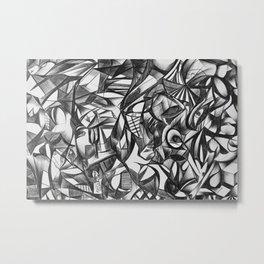 The Thinker 2 Metal Print