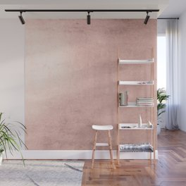 Blush Rose Gold Ombre  Wall Mural
