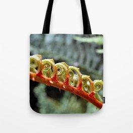 Curled Leaf Tote Bag