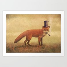 Crazy Like a Fox  Art Print