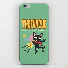 The fun cue iPhone Skin