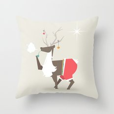 Happy New Year - A New Start to Old Habbits Throw Pillow