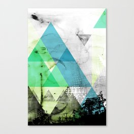 Abstract Geometry V3  Canvas Print