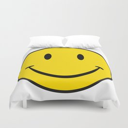 Smiley Happy Face Duvet Cover