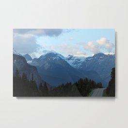 Mountain Highway Metal Print