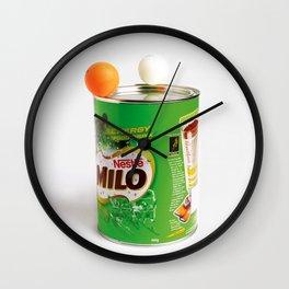 Ping Pong balls on Milo Wall Clock