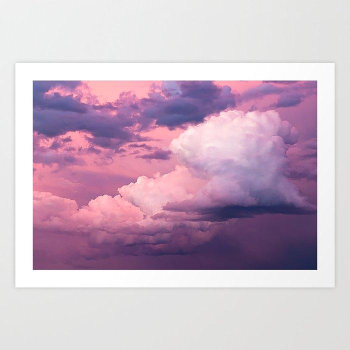 Beautiful Colorful Sunset Kunstdrucke