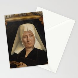 Quentin Metsys - Portrait of a Woman Stationery Cards