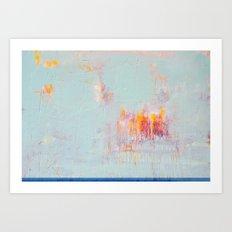 vast sky Art Print