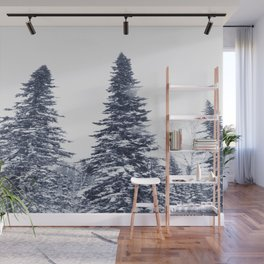 Fir-trees Wall Mural