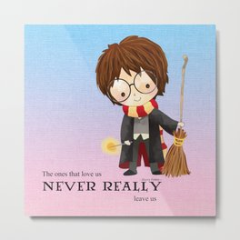 Never realy leave us Metal Print