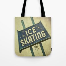 Ice Skating  Tote Bag
