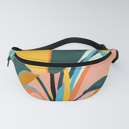 Nature Does Not Hurry Yet Everything Is Accomplished #painting Fanny Pack