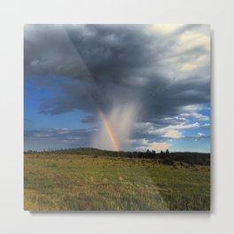 Isolated rainbows Metal Print