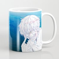tokyo ghoul Mugs featuring Tokyo Ghoul  by Neo Crystal Tokyo