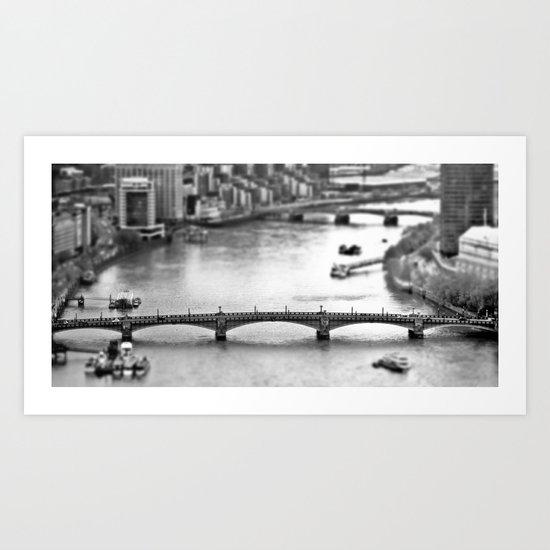 Southwark Bridge Art Print