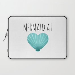 Mermaid At Heart  |  Teal Laptop Sleeve