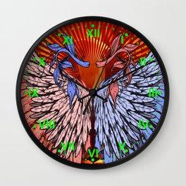 wings of love2 Wall Clock